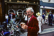 James Joyce's Bloomsday, when Dubliners plays characters of Ulysses. Davy Byrne' s pub, Duke street.