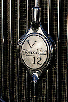 PEBBLE BEACH, CA - AUGUST 19: The grill of the 1933 Franklin V12 air cooled 7 passenger sedan at the 2007 Pebble Beach Concours d'Elegance on August 19, 2007 in Pebble Beach, California.  (Photo by David Paul Morris)