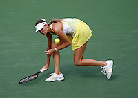 17 March 2007: Daniela Hantuchova (SVK) defeated Svetlana Kuznetsova (RUS) 6-3, 6-4 on the main court at the 2007 Pacific Life Open Tennis Tournament in Indian Wells, CA on Saturday.