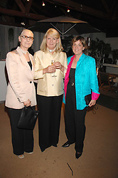 Left to right, JUNE TORRANCE, ANTOINETTE PARDO and SALLY ROBOTHAM at a party for the Royal Marsden Hospital held at the Chelsea Gardener, Sydney Street, London on 6th May 2008.<br />