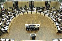 18 MAR 2005, BERLIN/GERMANY:<br /> Uebersicht Plenarsaal, waehrend einer Debatte, Plenum, Bundesrat<br /> IMAGE: 20050318-02-054<br /> KEYWORDS: Übersicht
