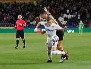 Leeds United midfielder Ezgjan Alioski (10)  during the EFL Sky Bet Championship match between Hull City and Leeds United at the KCOM Stadium, Kingston upon Hull, England on 2 October 2018.