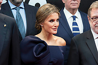 Queen Letizia of Spain attends to photocall of 50th anniversary sport newspaper As in Madrid, Spain. December 04, 2017. (ALTERPHOTOS/Borja B.Hojas)