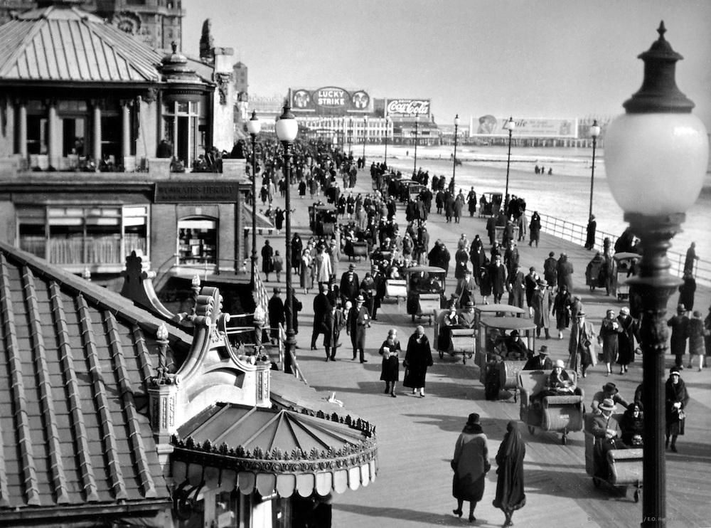 The Boardwalk, Atlantic City, New Jersey, 1926