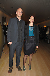 Artist DINOS CHAPMAN and his wife THIPAINE at a party to celebrate the launch of the Suka restaurant at the Sanderson Hotel, berners Street, London on 15th March 2007.<br /><br />NON EXCLUSIVE - WORLD RIGHTS
