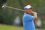 K.J. Choi during the first round of the World Golf Championship Cadillac Championship on the TPC Blue Monster Course at Doral Golf Resort And Spa on March 8, 2012 in Doral, Fla. ..©2012 Scott A. Miller.