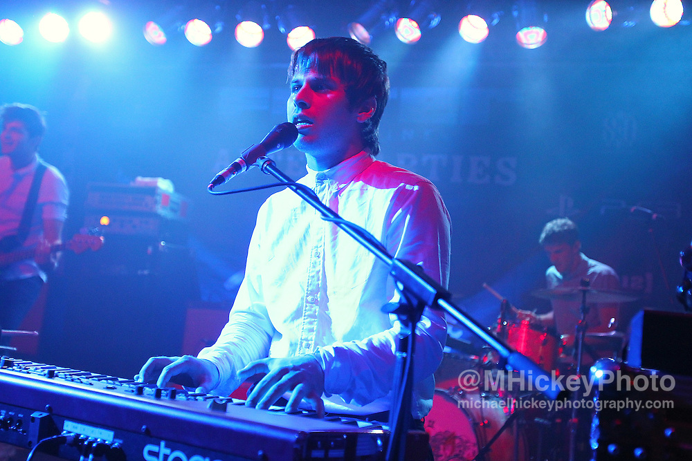 Foster the People perform at the Filter Magazine After Party at the Hard Rock Hotel in Chicago. <br /> <br /> Photo by Michael Hickey