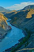 Interior Plateau and Fraser River in Fraser Canyon<br />