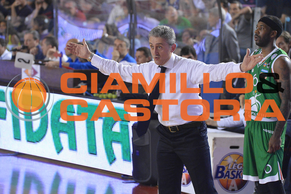DESCRIZIONE : Roma Lega A 2012-2013 Acea Roma Montepaschi Siena  playoff finale gara 2<br /> GIOCATORE : Marco Calvani<br /> CATEGORIA : Schema<br /> SQUADRA : Acea Roma<br /> EVENTO : Campionato Lega A 2012-2013 playoff finale gara 2<br /> GARA : Acea Roma Montepaschi Siena <br /> DATA : 13/06/2013<br /> SPORT : Pallacanestro <br /> AUTORE : Agenzia Ciamillo-Castoria/GiulioCiamillo<br /> Galleria : Lega Basket A 2012-2013  <br /> Fotonotizia : Roma Lega A 2012-2013 Acea Roma Montepaschi Siena  playoff finale gara 2