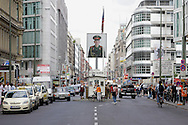 GERMANY - BERLIN - Checkpoint Charlie. PHOTO GERRIT DE HEUS