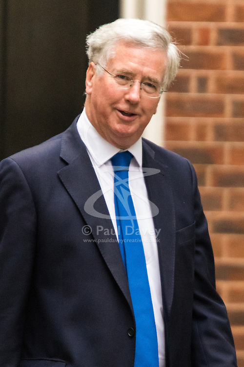 Downing Sreet, London, July14th 2015. Defence Secretary Michael Fallon arrives at 10 Downing street for the government's weekly cabinet meeting.