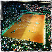 Roland Garros. Paris, France. May 28th 2012.Court Philippe Chatrier (Court Central)