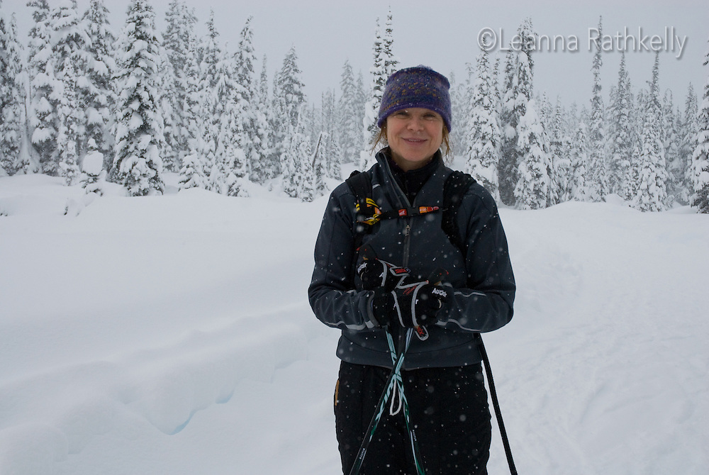 Attempting to Snowshoe to Solitude in 4 feet of fresh: The Callaghan Country ski lodge is located 10 minutes south of Whistler, BC Canada, up the Callaghan Valley and next to the Whistler Olympic Park.