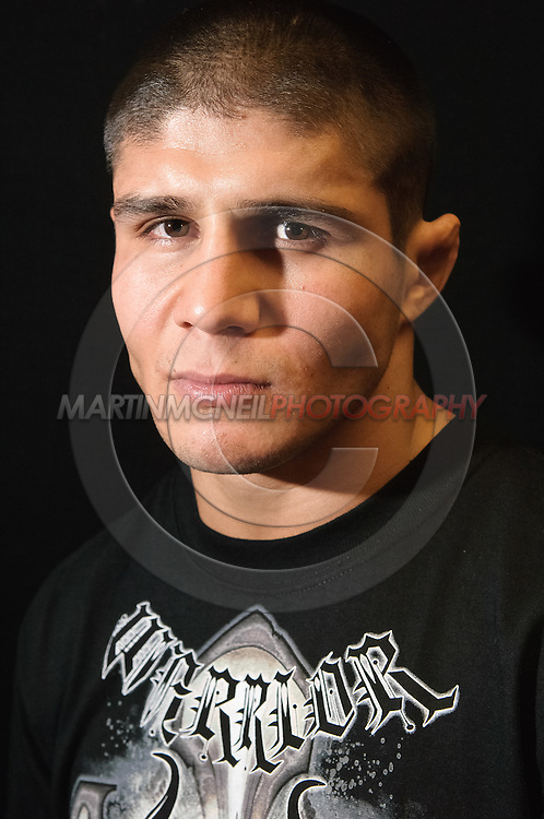 "A portrait of mixed martial arts athlete Joe ""Daddy"" Stevenson"