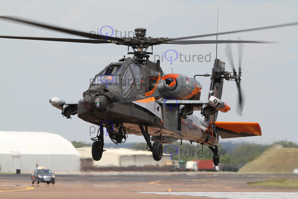 AH-64 Apache Royal Netherlands Air Force The Royal International Air Tattoo, RAF Fairford, UK, 15 July 2011:  Contact: Rich@Piqtured.com +44(0)7941 079620 (Picture by Richard Goldschmidt)