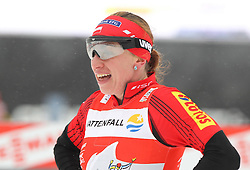 30.12.2011, DKB-Ski-ARENA, Oberhof, GER, Viessmann FIS Tour de Ski 2011, Pursuit/ Verfolgung Damen im Bild Justyna Kowalczyk (POL) gewinnt das Rennen . // during of Viessmann FIS Tour de Ski 2011, in Oberhof, GERMANY, 2011/12/30 .. EXPA Pictures © 2011, PhotoCredit: EXPA/ nph/ Hessland..***** ATTENTION - OUT OF GER, CRO *****