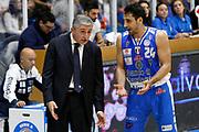 DESCRIZIONE : Capo dOrlando Lega A BEKO 2015-16 Betaland Orlandina Basket Banco di Sardegna Sassari  <br /> GIOCATORE :  Marco Calvani Rok Stipcevivc<br /> CATEGORIA :  Head Coach Ritratto Delusione<br /> SQUADRA : Betaland Upea Capo dOrlando <br /> EVENTO : Campionato Lega A BEKO 2015-2016 <br /> GARA : Betaland Orlandina Basket Banco di Sardegna Sassari<br /> DATA : 30/11/2015<br /> SPORT : Pallacanestro <br /> AUTORE : Agenzia Ciamillo-Castoria/G. Pappalardo <br /> Galleria : Lega Basket A BEKO 2015-2016 <br /> Fotonotizia : Capo dOrlando Lega A BEKO 2015-16 Betaland Orlandina Basket Banco di Sardegna Sassari