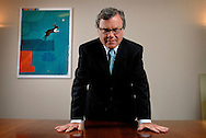 Martin Sorrell, chief executive of advertising giant, WPP Group. Photographed in his offices in London, UK.