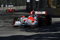 Helio Castroneves, Detroit Indy Grand Prix, Bell Isle, Detroit, MI  USA  8/31/08