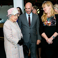 Queen's Visit to Chichester Festival Theatre