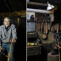 Blacksmith Ted Tucker