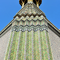 Belfry Tower at Grand Palace in Bangkok, Thailand<br />