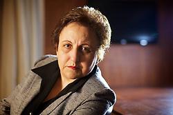 """A advogada iraniana, defensora dos direitos humanos e Prémio Nobel da Paz 2003, Shirin Ebadi durante uma conferência de imprensa no Blue Tree Millenium Porto Alegre Hotel em Porto Alegre, em 13 de junho de 2011. Shirin está no Brasil para realizar duas conferências do """"Fronteiras do Pensamento"""", em Porto Alegre e São Paulo, além de diversos compromissos políticos. FOTO: Jefferson Bernardes/ Agência Preview"""