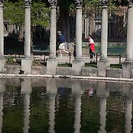 France, Paris., 8th district. Parc Monceau