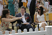 Emma Pierson, Max Beazley and Susie Amy, Veuve Clicquot Gold Cup 2006. Final day. 23 July 2006. ONE TIME USE ONLY - DO NOT ARCHIVE  © Copyright Photograph by Dafydd Jones 66 Stockwell Park Rd. London SW9 0DA Tel 020 7733 0108 www.dafjones.com