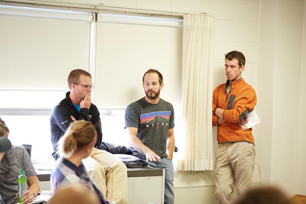 Activity; Climbing; Collaboration; Community Service; Adventure; Buildings; Cartwright; Location; Inside; Classroom; Type of Photography; Candid; UWL UW-L UW-La Crosse University of Wisconsin-La Crosse