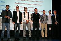 Håndball , 1. mai 2010<br /> Kjersti Arntsen og Ida Gullaksen<br /> <br /> Årets lag:<br /> Målvakt:<br /> Jonas Degnbol, Drammen<br />  Høyre kantspiller:<br /> Sondre Paulsen, ØIF Arendal<br />  Høyre bakspiller:<br /> Kent Robin Tønnesen, Haslum<br />  Linjespiller:<br /> Joakim Hykkerud, Drammen<br />  Midt bakspiller: Jac Karlsson, IL Runar<br />  Venstre bakspiller: Svend Magnus Pettersen, Fyllingen<br />  Venstre kant:<br /> Magnus Jøndal, Follo