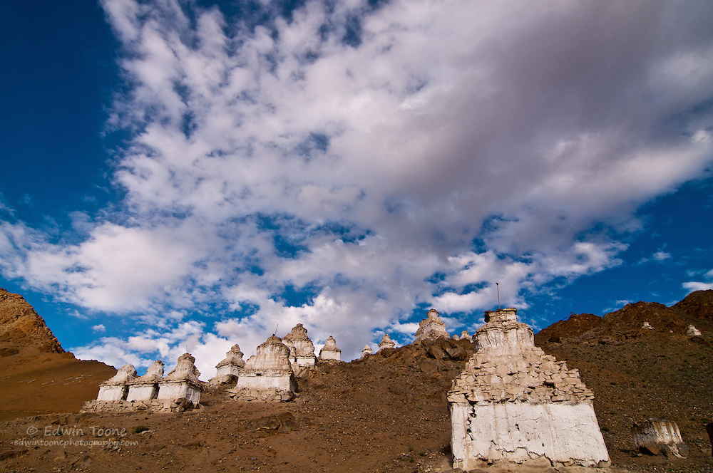 The Stupa forest of Leh.