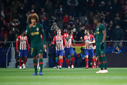 Koke of Atletico de Madrid celebrates the goal during the UEFA Champions League, Group A football match between Atletico de Madrid and AS Monaco on November 28, 2018 at Wanda Motropolitano stadium in Madrid, Spain - Photo Oscar J Barroso / Spain ProSportsImages / DPPI / ProSportsImages / DPPI