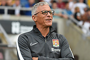 Northampton Town manager Keith Curle during the Pre-Season Friendly match between Northampton Town and Sheffield Wednesday at the PTS Academy Stadium, Northampton, England on 16 July 2019.