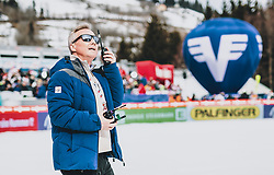16.02.2020, Kulm, Bad Mitterndorf, AUT, FIS Ski Flug Weltcup, Kulm, Herren, im Bild FIS Renndirektor Walter Hofer // FIS Racedirector Walter Hofer during the men's FIS Ski Flying World Cup at the Kulm in Bad Mitterndorf, Austria on 2020/02/16. EXPA Pictures © 2020, PhotoCredit: EXPA/ JFK