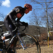 Emily Shields in action during the Cyclo-Cross, Supercross Cup 2013 UCI Weekend at the Anthony Wayne Recreation Area, Stony Point, New York. USA. 24th November 2013. Photo Tim Clayton