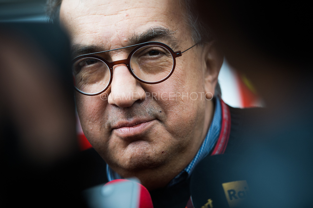 October 19-22, 2017: United States Grand Prix. Ferrari CEO Sergio Marchionne