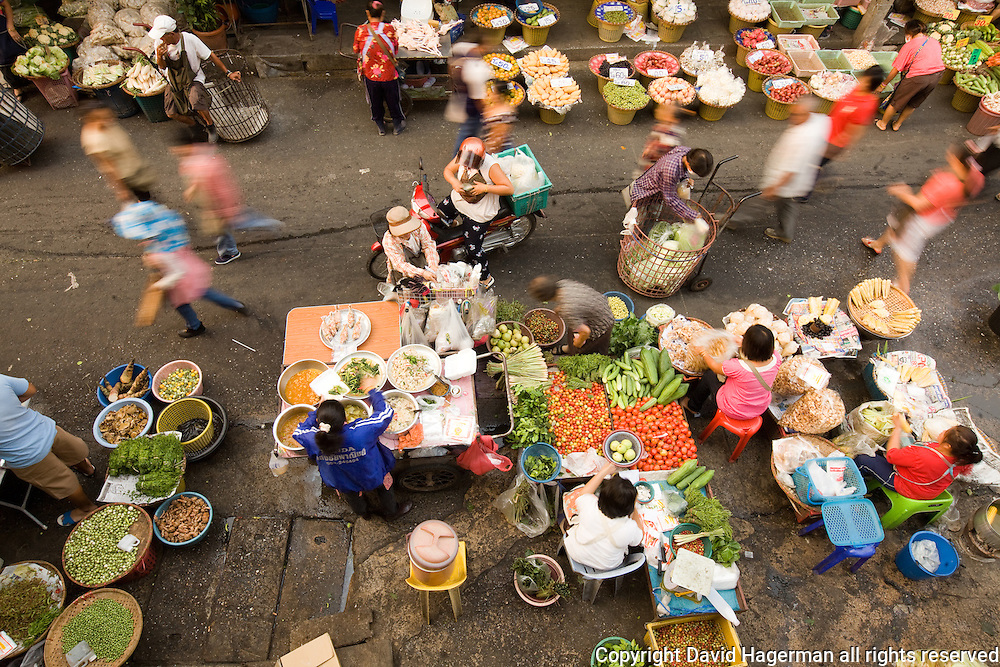 Chiang Mai's Myung Mai market is the cities largest wholesale and retail market.