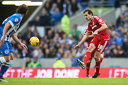 Christian Stuani of Middlesbrough in action - Mandatory byline: Jason Brown/JMP - 07966 386802 - 19/12/2015 - FOOTBALL - American Express Community Stadium - Brighton,  England - Brighton & Hove Albion v Middlesbrough - Championship