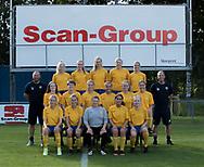 FODBOLD: Kvindesenior ved Ølstykke FC's officielle fotosession den 10. august 2017 på Ølstykke Stadion. Foto: Claus Birch