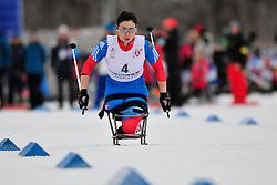ZAYNULLINA Marta, RUS at the 2014 IPC Nordic Skiing World Cup Finals - Sprint
