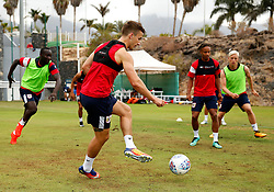 Joe Bryan of Bristol City trains with team mates - Mandatory by-line: Matt McNulty/JMP - 21/07/2017 - FOOTBALL - Tenerife Top Training Centre - Costa Adeje, Tenerife - Pre-Season Training