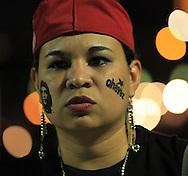 Salvadorenos simpatizantes de Hugo Chavez rinde homenaje, Miércoles, 23 de enero 2013, San Salvador, El Salvador al conocer su muerte. Los militantes de izquierda buscan solidificar el legado de Chávez como un salvador mesiánico de los pobres. Photo: Franklin Rivera/fmln/Imagenes Libres.