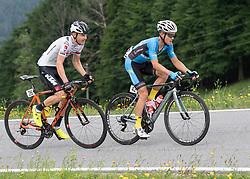 04.06.2017, St.Pölten, AUT, Rad Bundesliga, Österreich, GP Niederösterreich / St. Pölten, im Bild v.l. Sebastian Schönberger (AUT, Tirol Cycling Team), Riccardo Zoidl (AUT, Team Felbermayr Simplon Wels) // during Rad Bundesliga, Austria, GP Niederösterreich / St. Pölten, Austria on 2017/06/04. EXPA Pictures © 2017, PhotoCredit: EXPA/ Reinhard Eisenbauer
