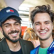 "NLD/Amsterdam/20180426 - L""Homo 2018, Jett Rebel en Kay Nambiar"