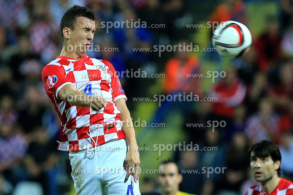 13.10.2014, Stadion Gradski vrt, Osijek, CRO, UEFA Euro Qualifikation, Kroatien vs Aserbaidschan, Gruppe H, im Bild Ivan Perisic. // during the UEFA EURO 2016 Qualifier group H match between Croatia and Azerbaijan at the Stadion Gradski vrt in Osijek, Croatia on 2014/10/13. EXPA Pictures &copy; 2014, PhotoCredit: EXPA/ Pixsell/ Davor Javorovic<br /> <br /> *****ATTENTION - for AUT, SLO, SUI, SWE, ITA, FRA only*****