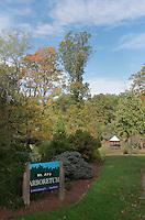 Mt Airy Arboretum Entrance