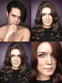 EXCLUSIVE - incredible make up artist Paolo Ballesteros transforms into Kate Middleton