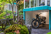 The Green Switch Garden by Kazuyuki Ishihara - Press preview day at The RHS Chelsea Flower Show.