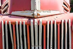 detail of an old Ford Truck